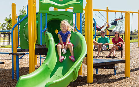 Playground at Miramesa in Cypress, TX