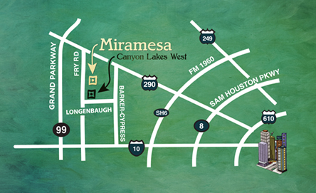 Miramesa Location Map