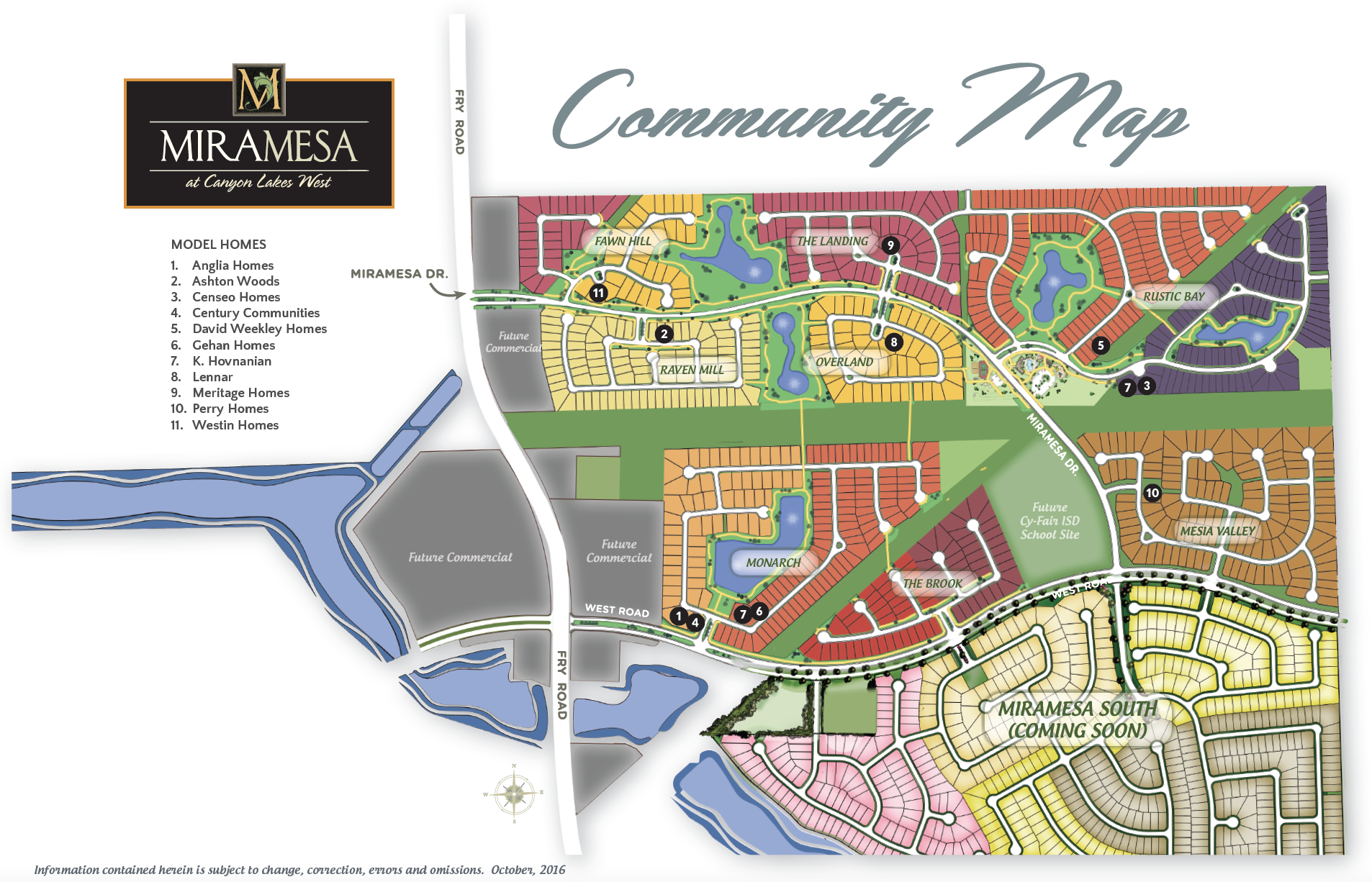 New Construction Homes In Cypress Tx Miramesa